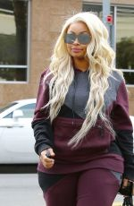 BLAC CHYNA Out and About in Los Angeles 01/04/2017