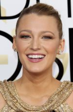 BLAKE LIVELY at 74th Annual Golden Globe Awards in Beverly Hills 01/08/2017