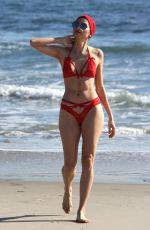 BLANCA BLANCO in Bikini at a Beach in Malibu 01/01/2017