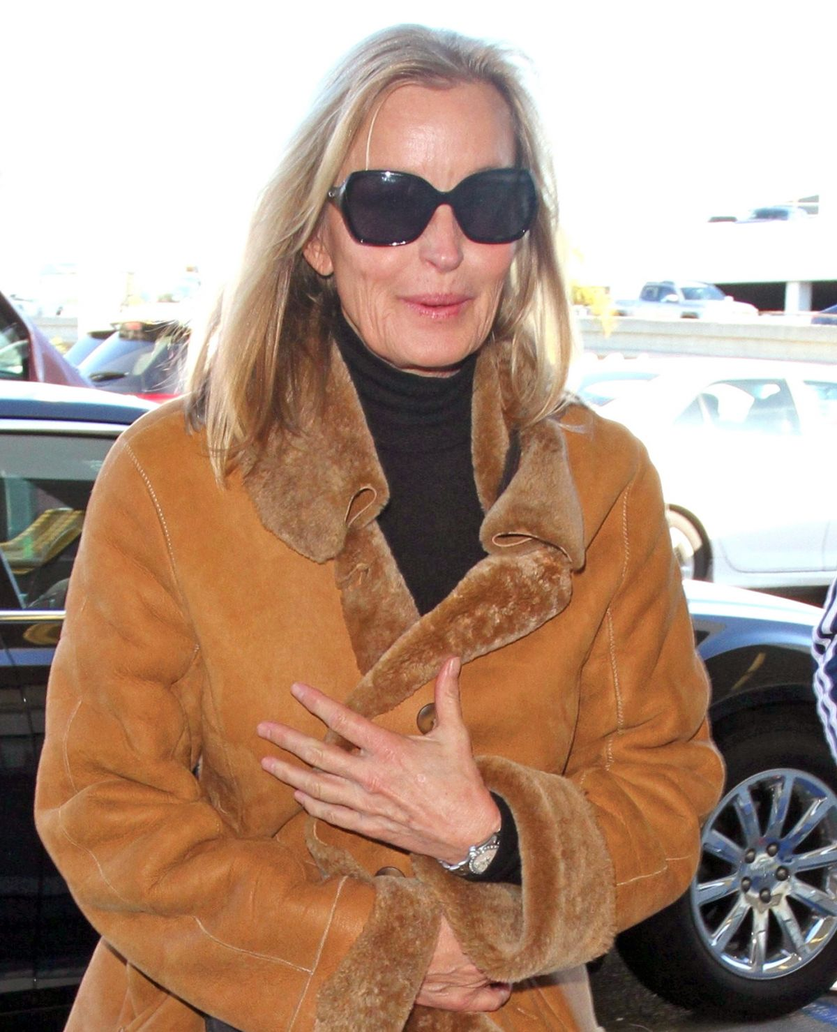 BO DEREK at LAX Airport in Los Angeles 01/30/2017