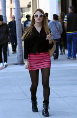 BONNIE WRIGHT Out Shopping in Beverly Hills 01/26/2017