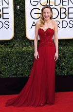 BRIE LARSON at 74th Annual Golden Globe Awards in Beverly Hills 01/08/2017