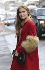 BRIGHTON SHARBINO Out and About in Park City 01/20/2017