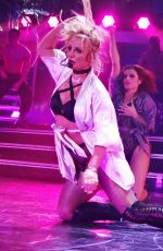 BRITNEY SPEARS Performs in Las Vegas 01/11/2017