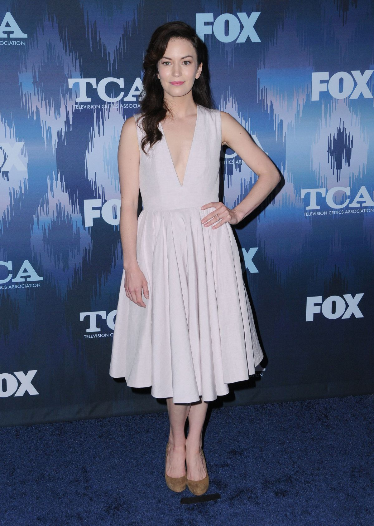 BRITT LOWER at Fox All-star Party at 2017 Winter TCA Tour in Pasadena 01/11/2017