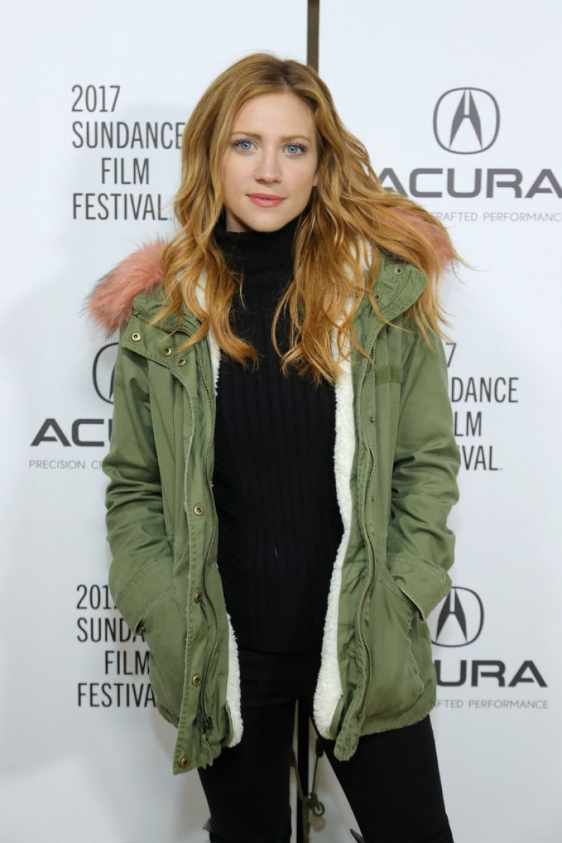 BRITTANY SNOW at Acura Studio at 2017 Sundance Film Festival 01/22/2017