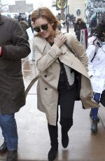 BRITTANY SNOW Out in Park City 01/21/2017
