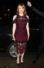 BRYCE DALLAS HOWARD at Moet Moment Pre Golden Globe Party in Los Angeles 01/04/2017