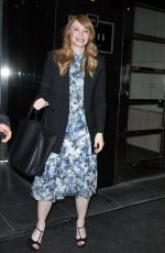 BRYCE DALLAS HOWARD Leaves The View in New York 01/18/2017