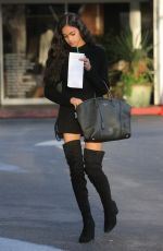 BRYIANA FLORES Out and About in Beverly Hills 01/10/2017