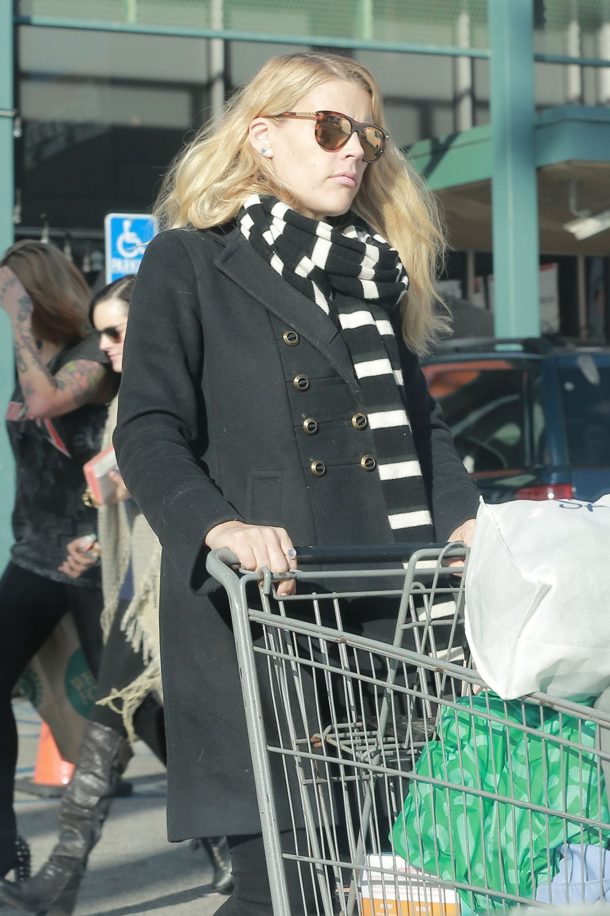 BUSY PHILIPPS Out Shopping in West Hollywood 01/23/2017