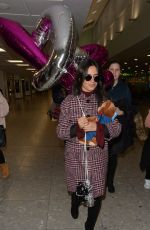 CAMILA CABELLO at Heathrow Airport in London 01/30/2017