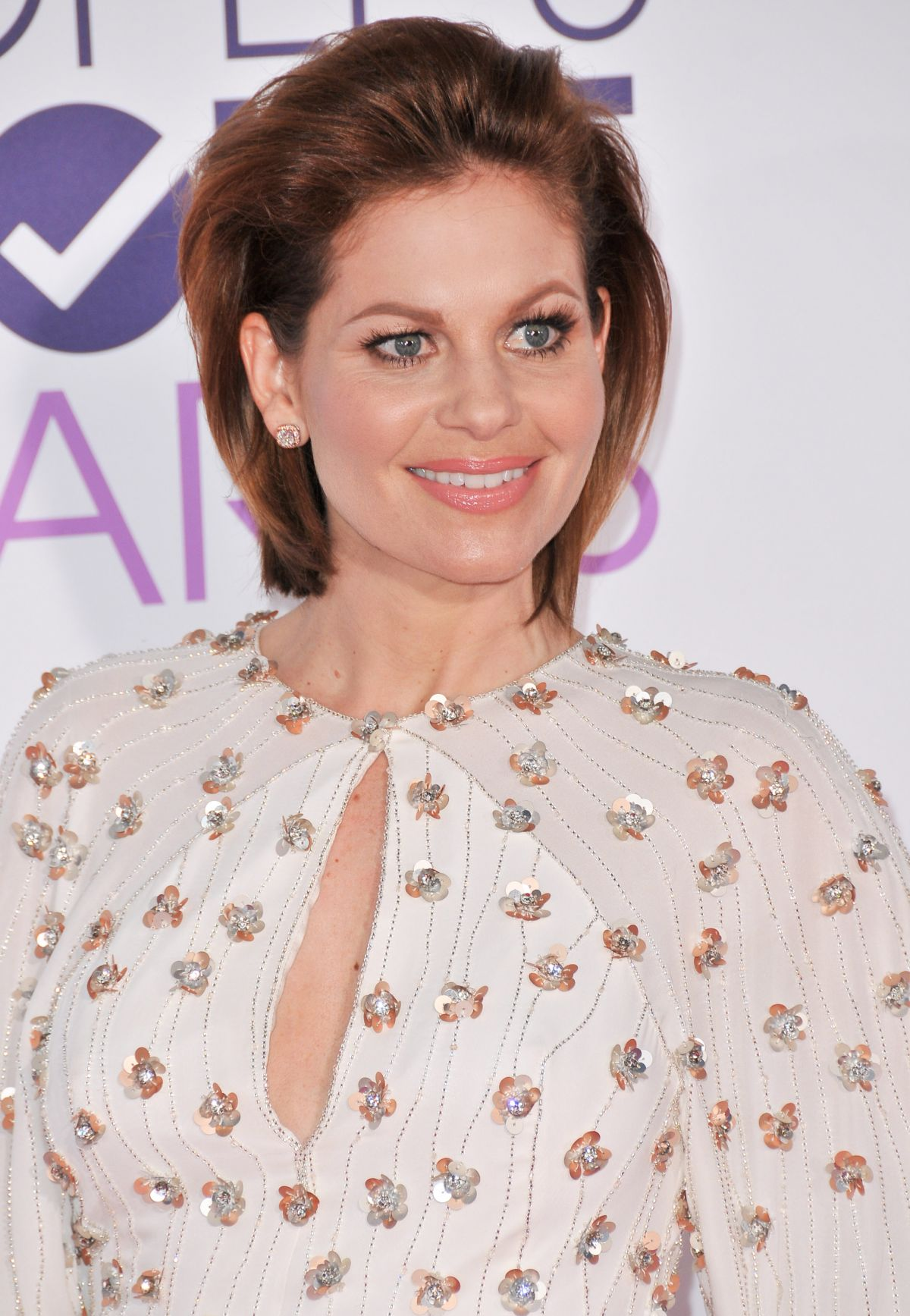 CANDACE CAMERON BURE at 43rd Annual People's Choice Awards in Los Angeles 01/18/2017