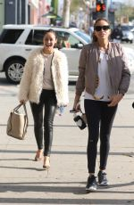 CARA SANTANA and ASHLEY MADEKWE Out in Beverly Hills 01/16/2017
