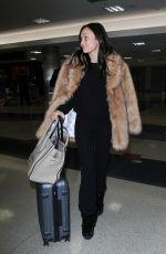 CARA SANTANA at LAX Airport in Los Angeles 01/11/2017