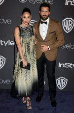 CARA SANTANA at Warner Bros. Pictures & Instyle's 18th Annual Golden Globes Party in Beverly Hills 01/08/2017