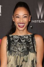 CARA SANTANA at Weinstein Company and Netflix Golden Globe Party in Beverly Hills 01/08/2017