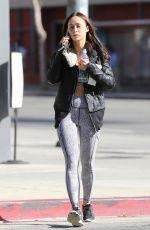 CARA SANTANA Leaves a Gym in Los Angeles 01/19/2017