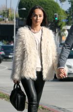 CARA SANTANA Out for Lunch in Beverly Hills 01/16/2017