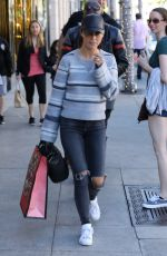 CARA SANTANA Out for Shopping in Beverly Hills 12/29/2016