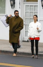 CARA SANTANA Out Shopping in Beverly Hills 01/04/2017