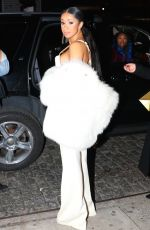 CARDI B Night Out in New York 01/26/2017