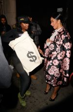 CARDI B Out and About in New York 01/23/2017