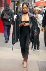 CARDI B Out in New York 01/26/2017