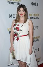 CARLY STEEL at 2nd Annual Moet Moment Film Festival in West Hollywood 01/04/2017
