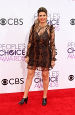 CARLY STEEL at 43rd Annual People's Choice Awards in Los Angeles 01/18/2017