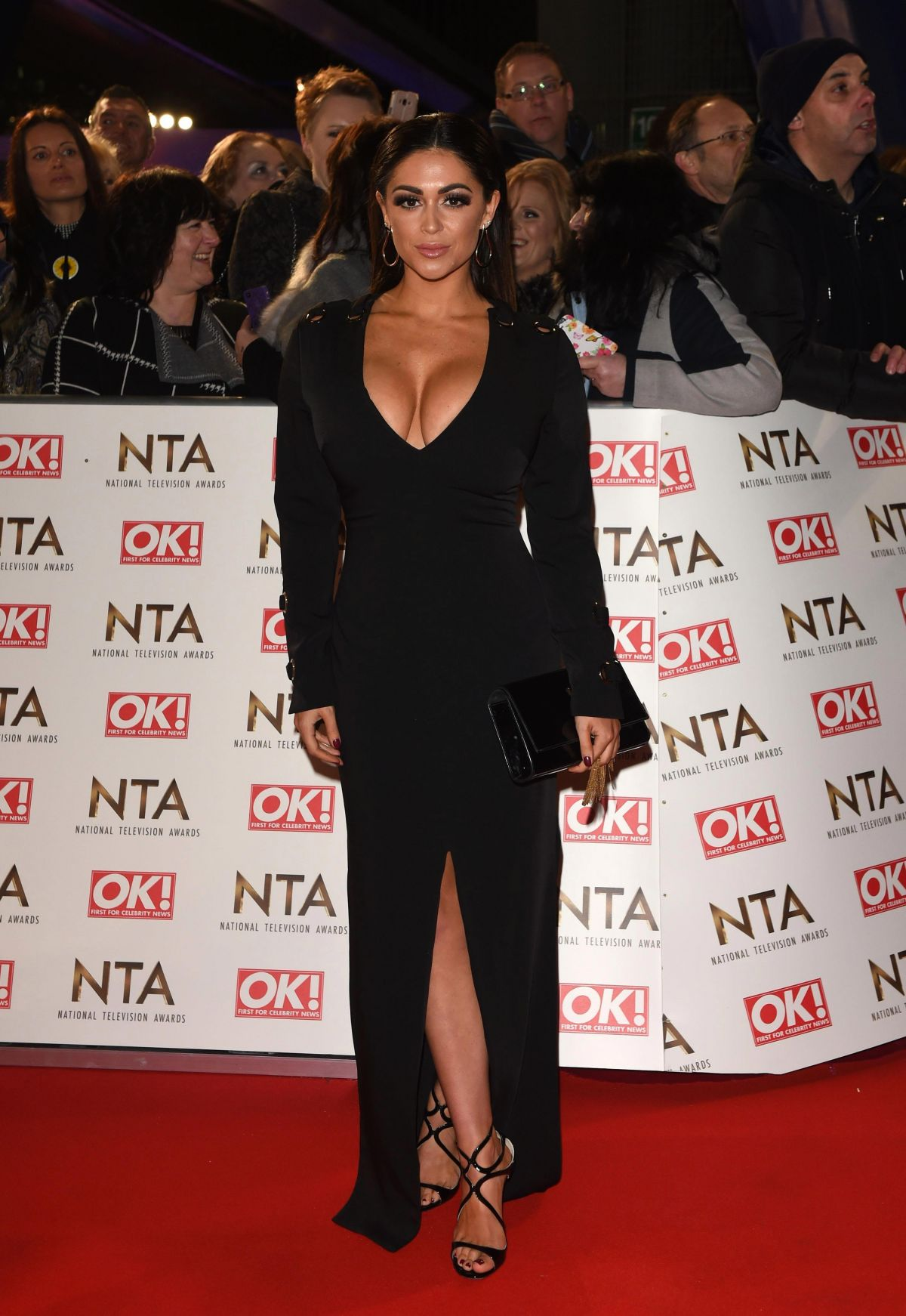 CASEY BATCHELOR at National Television Awards in London 01/25/2017