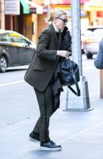 CATE BLANCHETT Arrivinesg at Barrymore Theatre in New York 01/29/2017