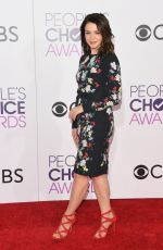 CATERINA SCORSONE at 43rd Annual People's Choice Awards in Los Angeles 01/18/2017