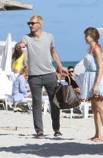 CATHY FISCHER Out in Miami Beach 12/31/2016