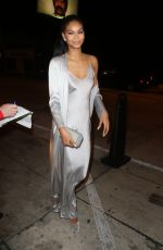 CHANEL IMAN at Catch LA in West Hollywood 01/09/2017