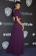 CHANEL IMAN at Warner Bros. Pictures & Instyle's 18th Annual Golden Globes Party in Beverly Hills 01/08/2017