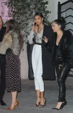 CHANEL IMAN Leaves Sunset Towers Hotel in Los Angeles 01/27/2017