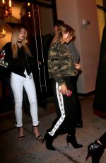 CHANTEL JEFFRIES Leaves a Dinner in West Hollywood 01/13/2017