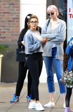 CHANTEL JEFFRIES Out for Shopping in Los Angeles 01/30/2017
