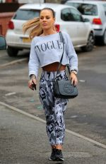 CHANTELLE CONNELLY Heading to a Gym in Manchester 01/26/2017