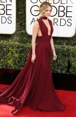 CHARISSA THOMPSON at 74th Annual Golden Globe Awards in Beverly Hills 01/08/2017