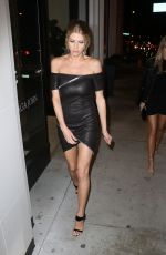 CHARLOTTE MCKINNEY at Catch LA in West Hollywood 01/09/2017
