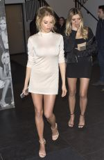 CHARLOTTE MCKINNEY at Catch LA in West Hollywood 01/27/2017