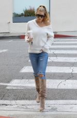 CHARLOTTE MCKINNEY Out in West Hollywood 01/24/2017