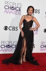 CHERYL BURKE at 43rd Annual People's Choice Awards in Los Angeles 01/18/2017
