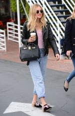 CHIARA FERRAGNI Out for Coffee in Los Angeles 01/04/2017