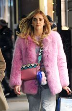 CHIARA FERRAGNI Shopping in Milan 01/16/2017
