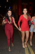 CHLOE FERRY Night Out in Newcastle 12/26/2016