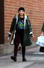CHLOE MORETZ and ZOEY DEUTCH Out in Beverly Hills 01/05/2017