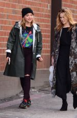 CHLOE MORETZ Out and About in Beverly Hills 01/05/2017